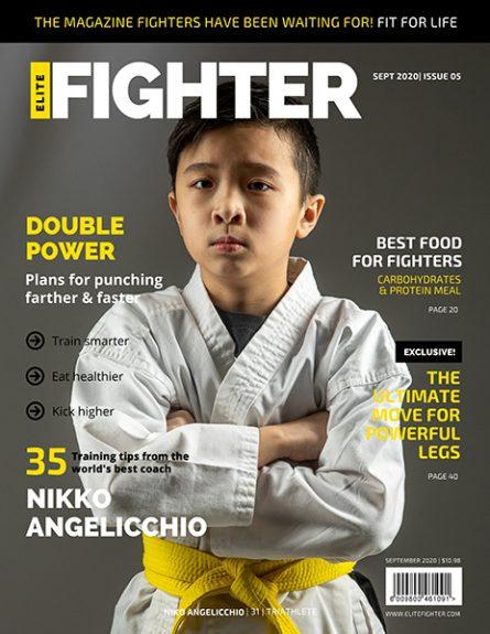 Black Yellow Photo Men's Running Magazine
